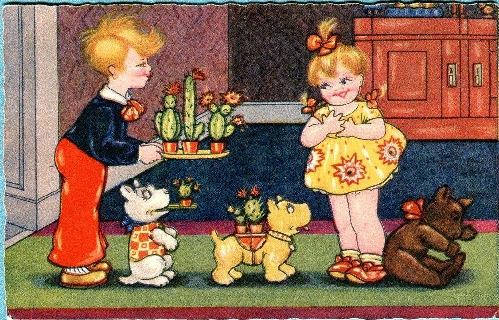 Margret Boriss postcard | eBay