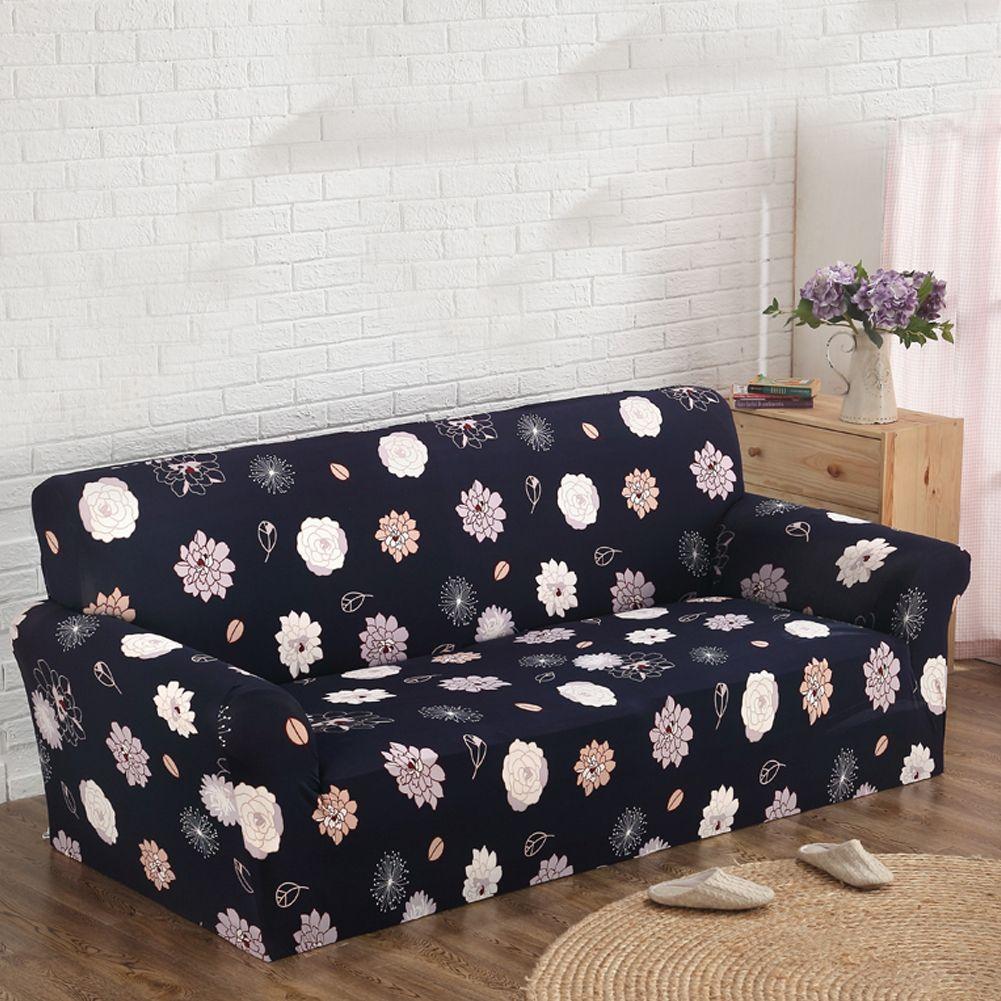 floral printed tight all inclusive sofa towel slipcover stretch rh pinterest com