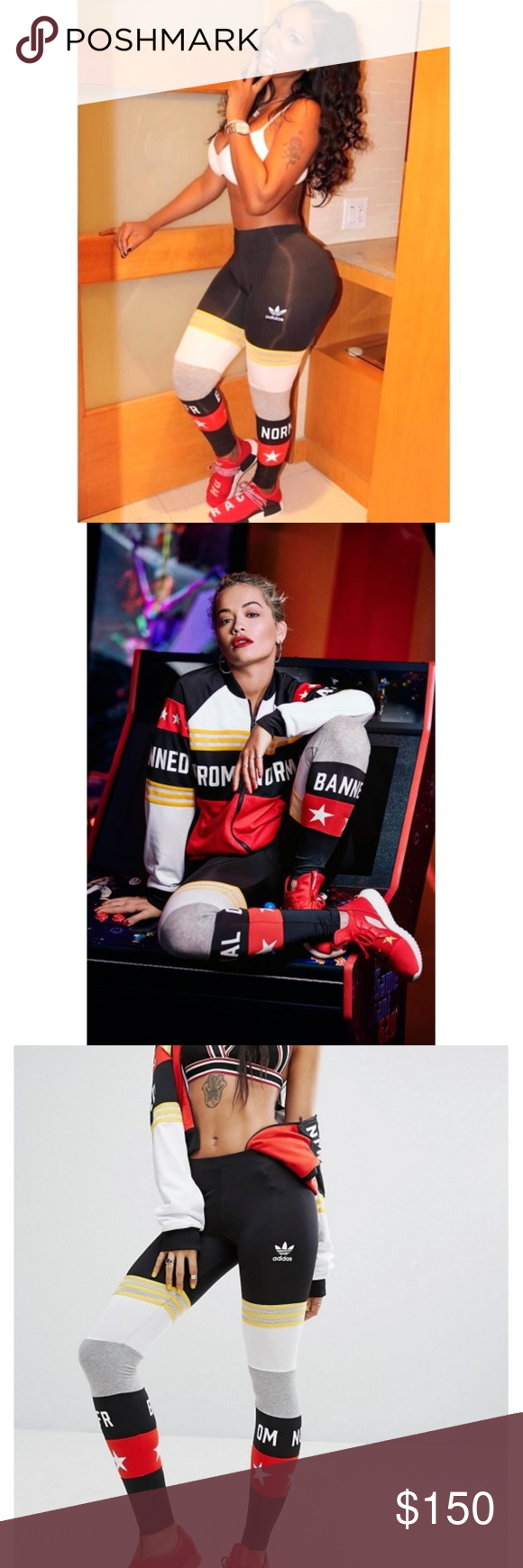 Adidas malla de Rita Ora Rita prohibidas de las polainas de | malla normal S | e4852fb - grind.website