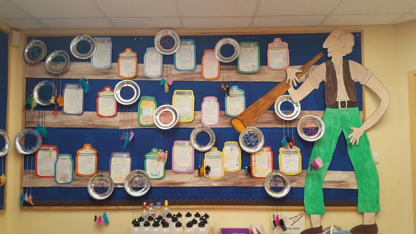 BFG Dream Jars And Dream Catchers Display