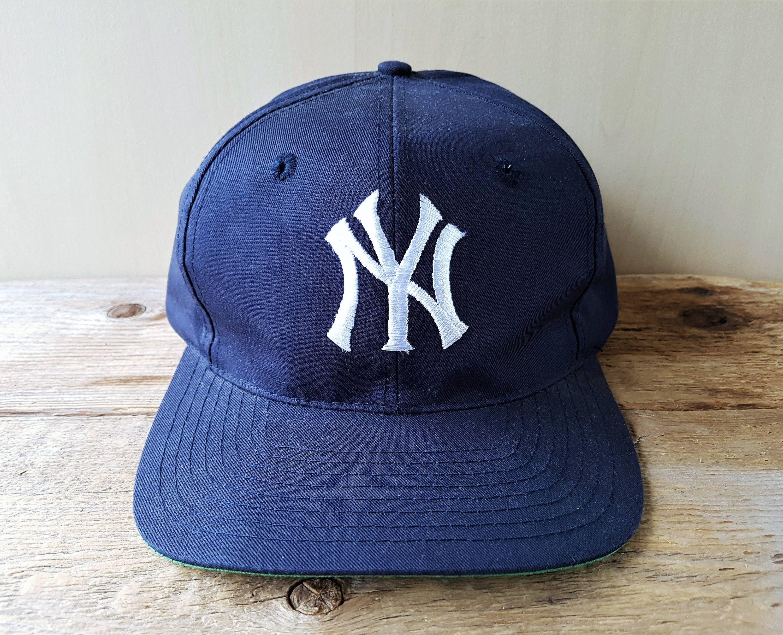 Vintage 90s New York Yankees Original Twins Mlb Snapback Hat Major League Baseball Deadstock Cap 6 Panel Model N In 2020 New York Yankees Yankees Major League Baseball