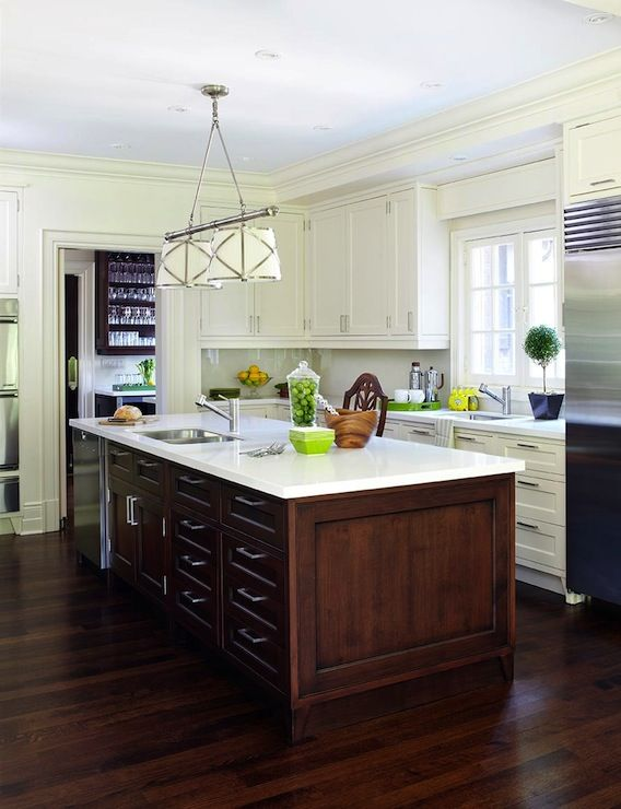 anne hepfer designs amazing two tone kitchen with ivory shaker rh pinterest com how much for kitchen cabinetry how much for kitchen cabinet installation