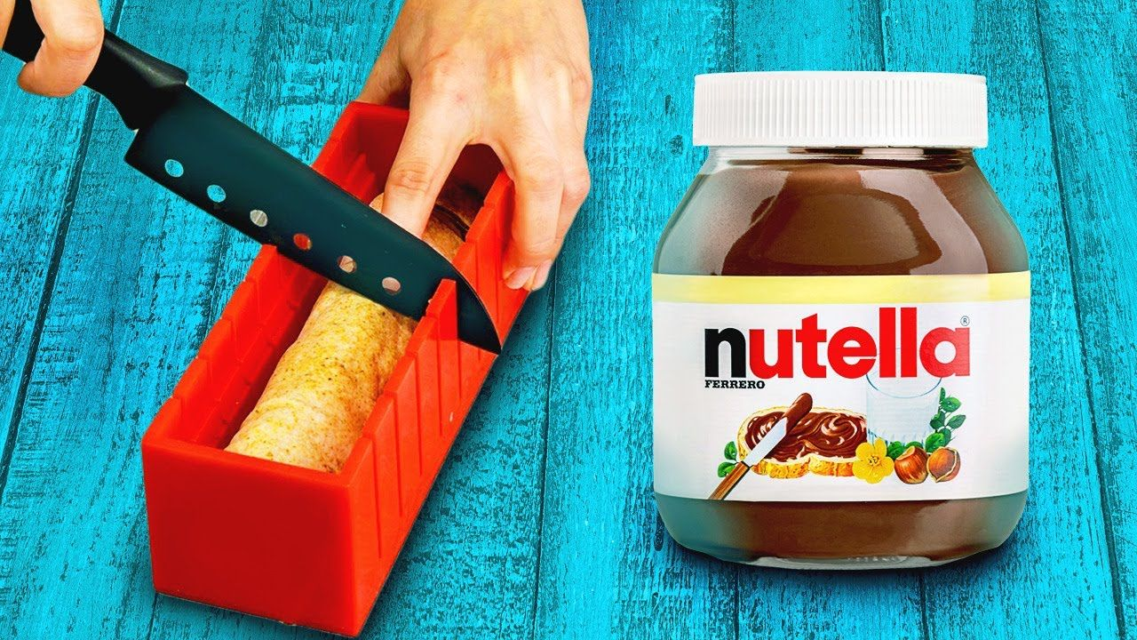 20 nutella hacks for your inner chocoholic youtube in