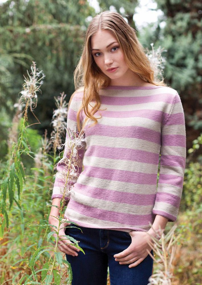 Emma Boatneck Sweater In Millamia Merino Wool Downloadable Pdf