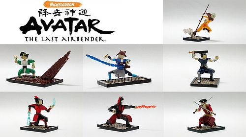 Avatar: The Last Airbender | LEGO Creatures | Pinterest | Tags ...