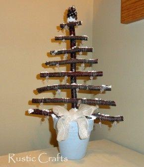 Crafts Diy And Decorating Ideas Rustic Crafts Rustic Christmas Crafts Cool Christmas Trees