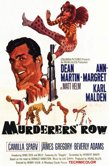 Murderer S Row 1966 Dean Martin Ann Margret Karl Malden