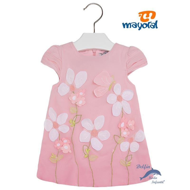 4f4d4c416 Vestido bebe MAYORAL bambula Marcas De Ropa Infantil