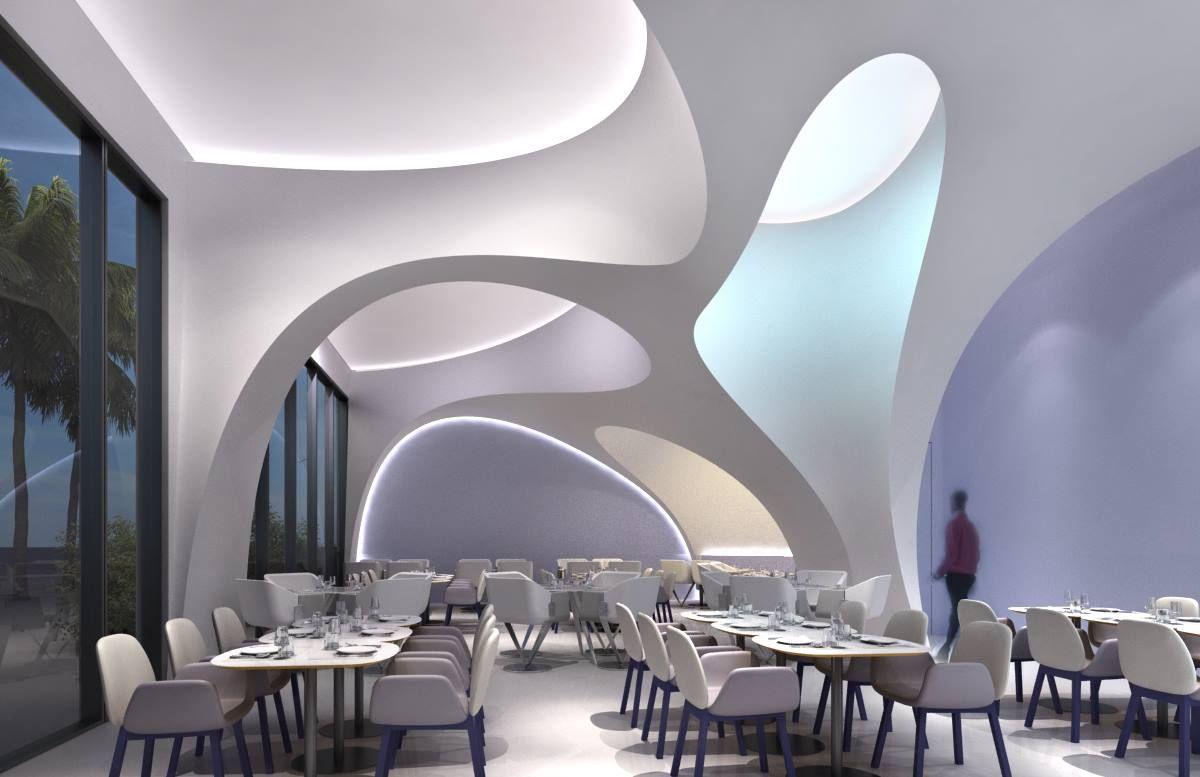 Karim Rashid Sneek Peek At A New Cafe Design In Abu Dhabi