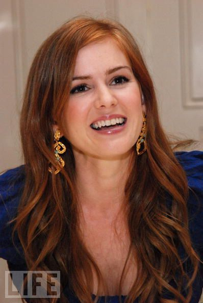 Isla Fisher- the perfect shade of red hair