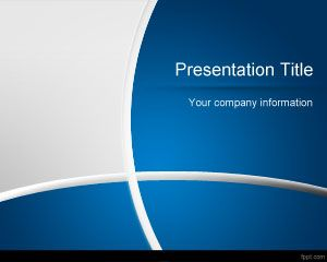 Free Dark Blue Powerpoint Template Background Is A Free