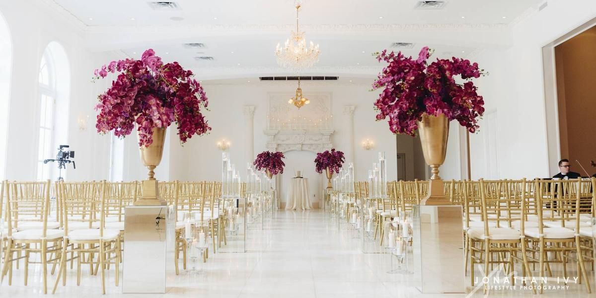 wedding reception venues cost%0A Chateau Cocomar Weddings  Price out and compare wedding costs for wedding  ceremony and reception venues in Houston  TX