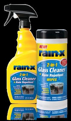 Rain-X Glass and Windshield 2-in-1-Glass-Cleaner+Rain