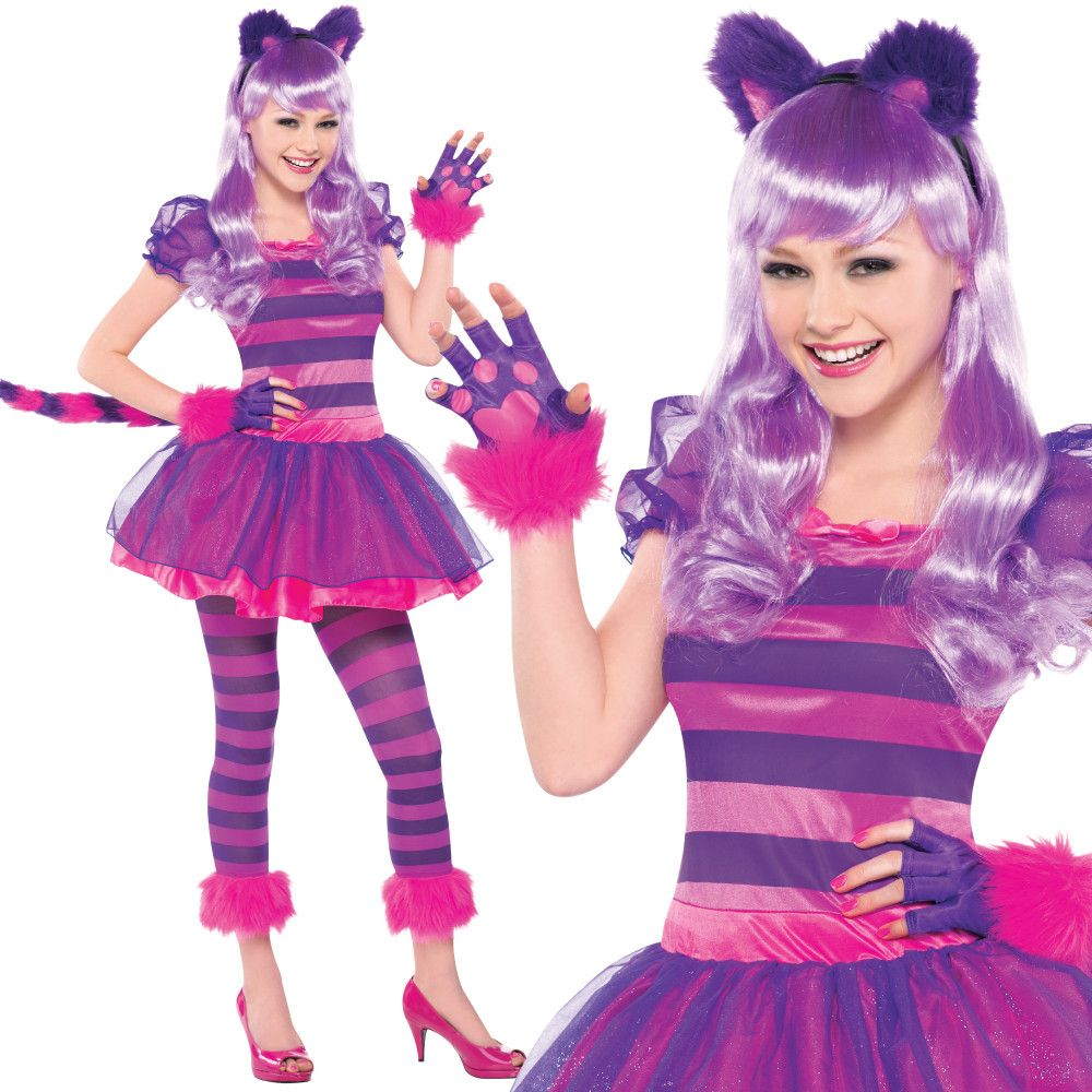 Teen Cheshire Cat Fancy Dress Costume – Fancy Dress Madness ...