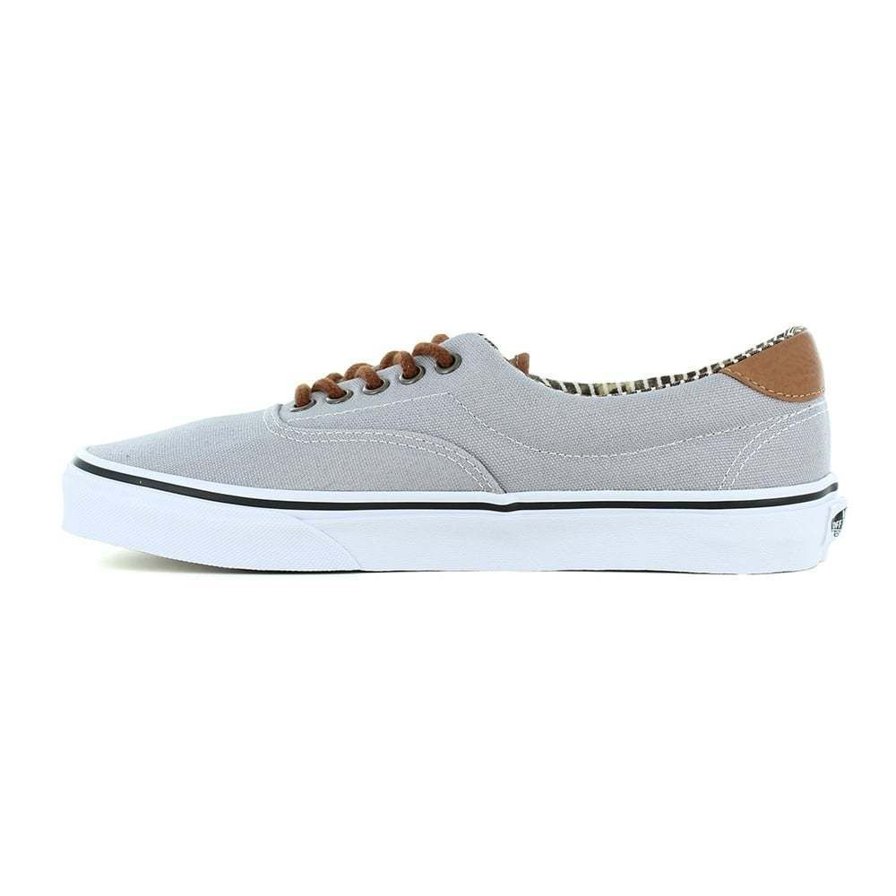 8f5a26ed19 Vans Era 59 (C L) Shoe in Silver Scone Stripe Denim size 6 UK  VANS