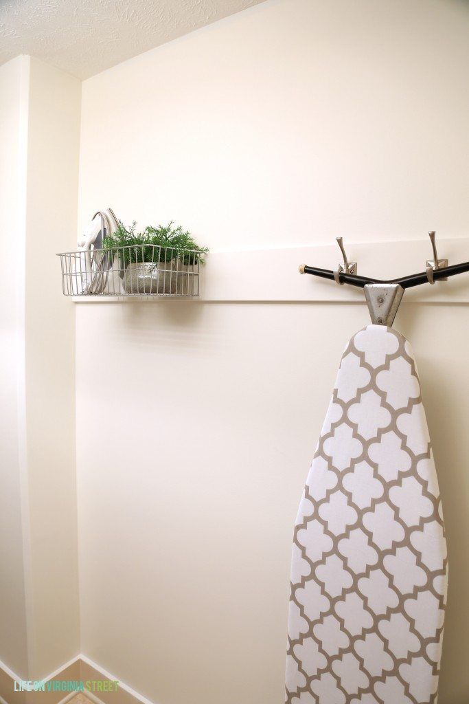 diy ironing board storage and a laundry room makeover diy rh pinterest ch