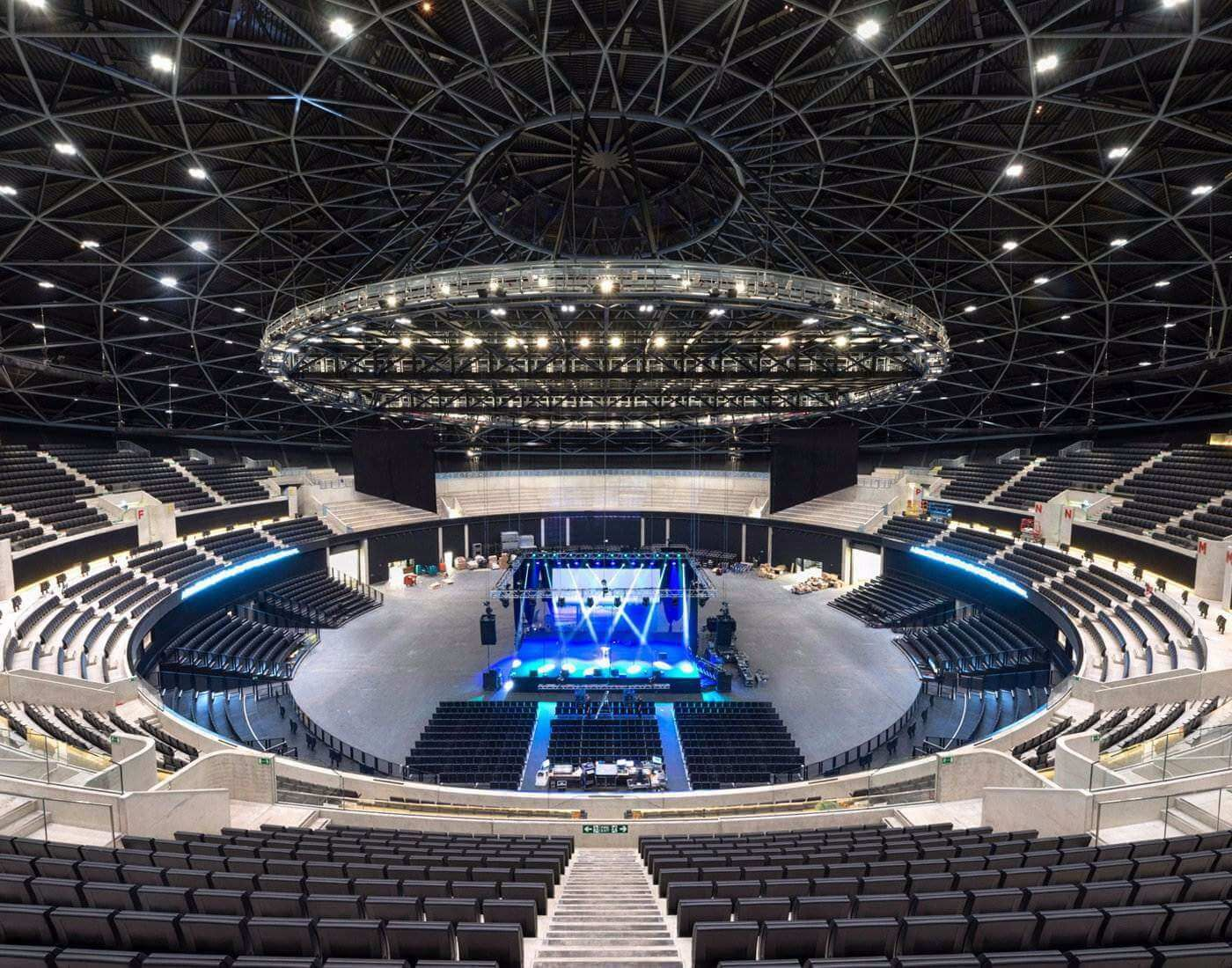 The Sse Arena In 2020 Glasgow Seating Plan Secc Glasgow