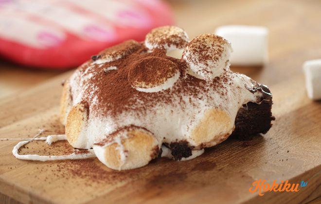 Resep Marshmallow Brownie Brownis Resep Kue