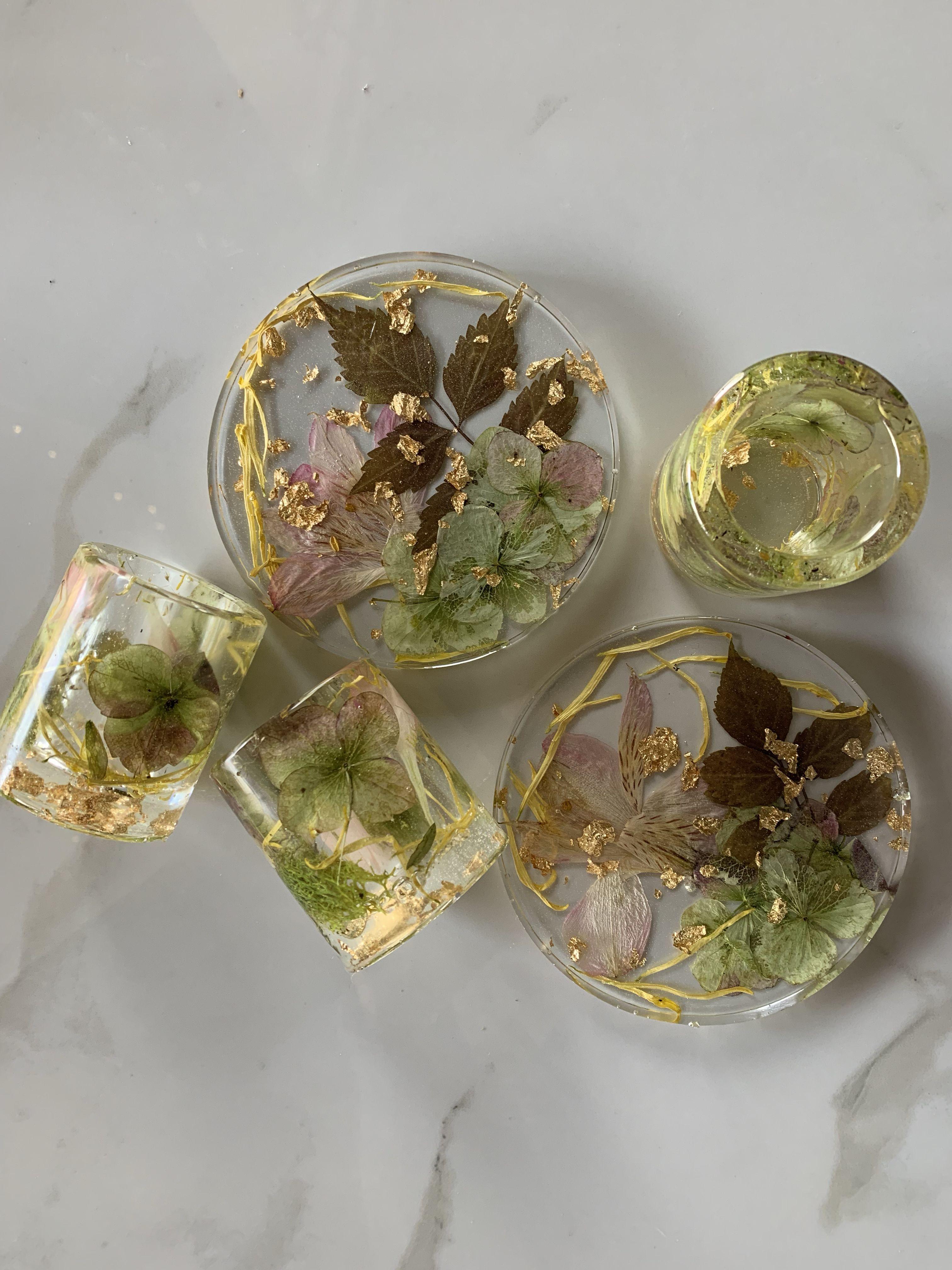 Real Flower Soap Dish Resin Flower Soap Dish Custom