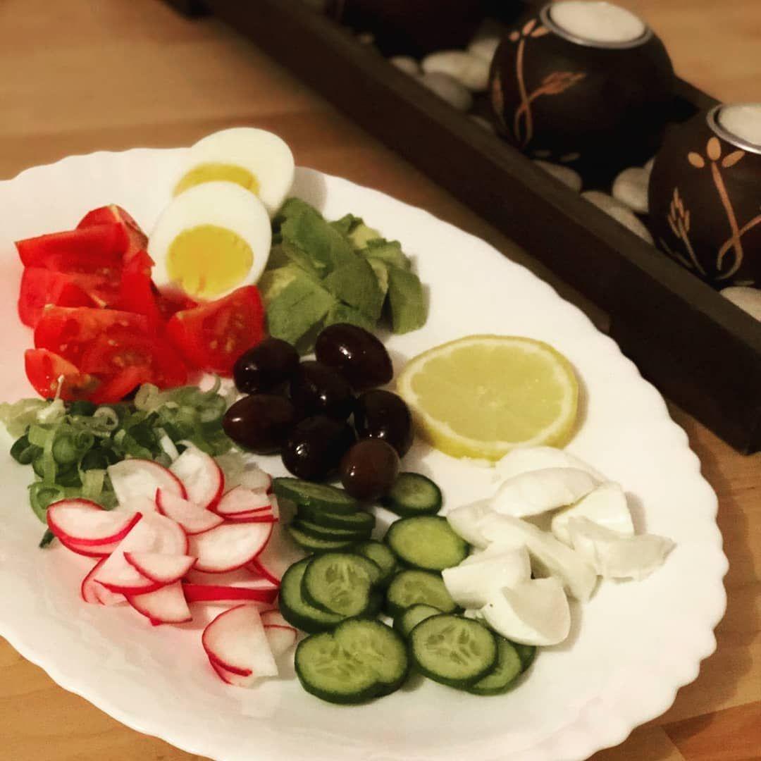 Abnehmen essen Salate