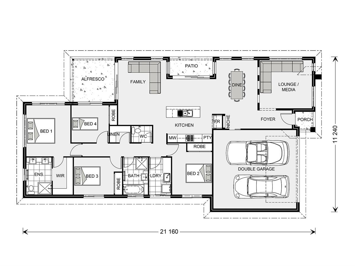 Oceanside 206 - Element, Our Designs, Cairns Builder, GJ Gardner ...