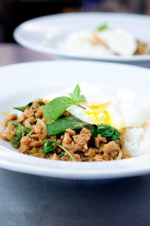 Recipe ground chicken basil