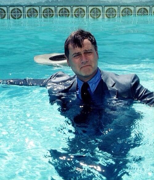 J R In The Pool Again Kriegerin Dallas Texas
