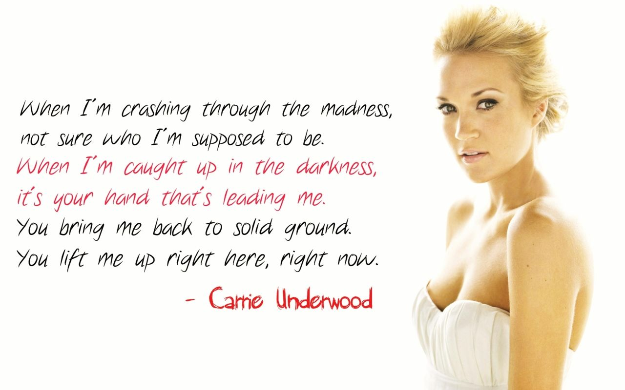 carrie underwood lyrics tumblr - photo #25