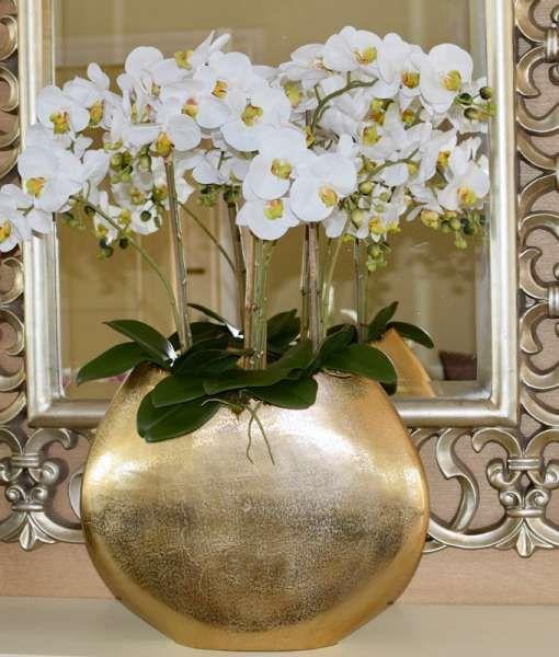 Artificial Orchids In Vase - Best Vase Decoration 2018 on