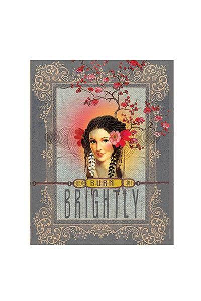 PAPAYA! Art Burn Brightly Magnet - Magnets - Cards & Paper - Papaya!