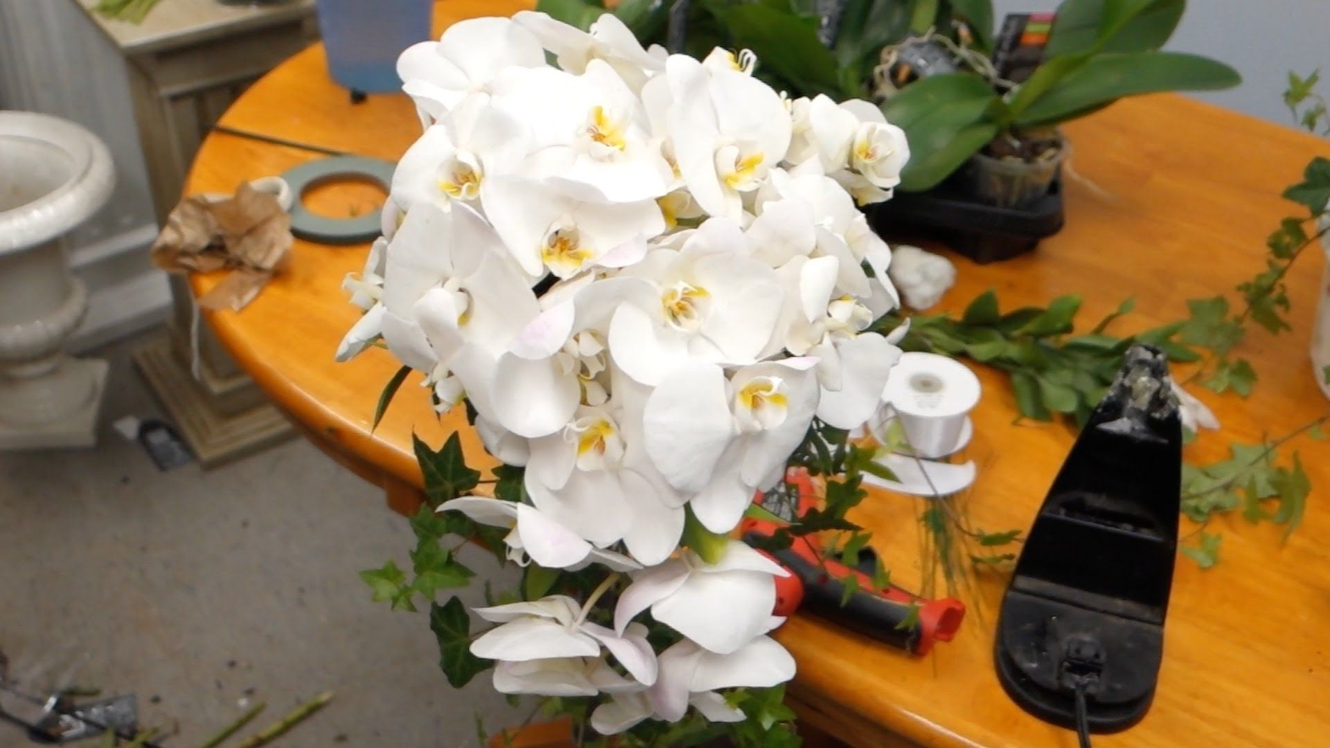 How to make a bouquet of orchids do it yourself 29