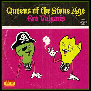 Queens of The Stone Age - Era Vulgaris #music #album covers
