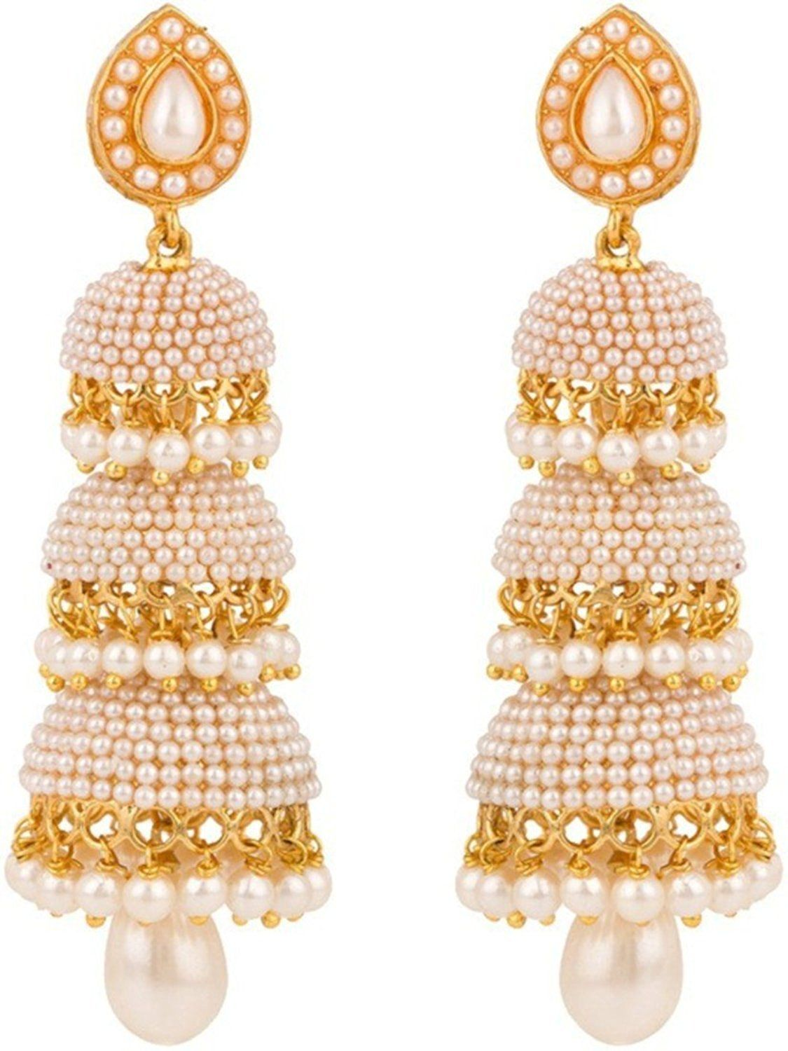 Pearl Stylish earrings for stylish girls recommend dress in autumn in 2019