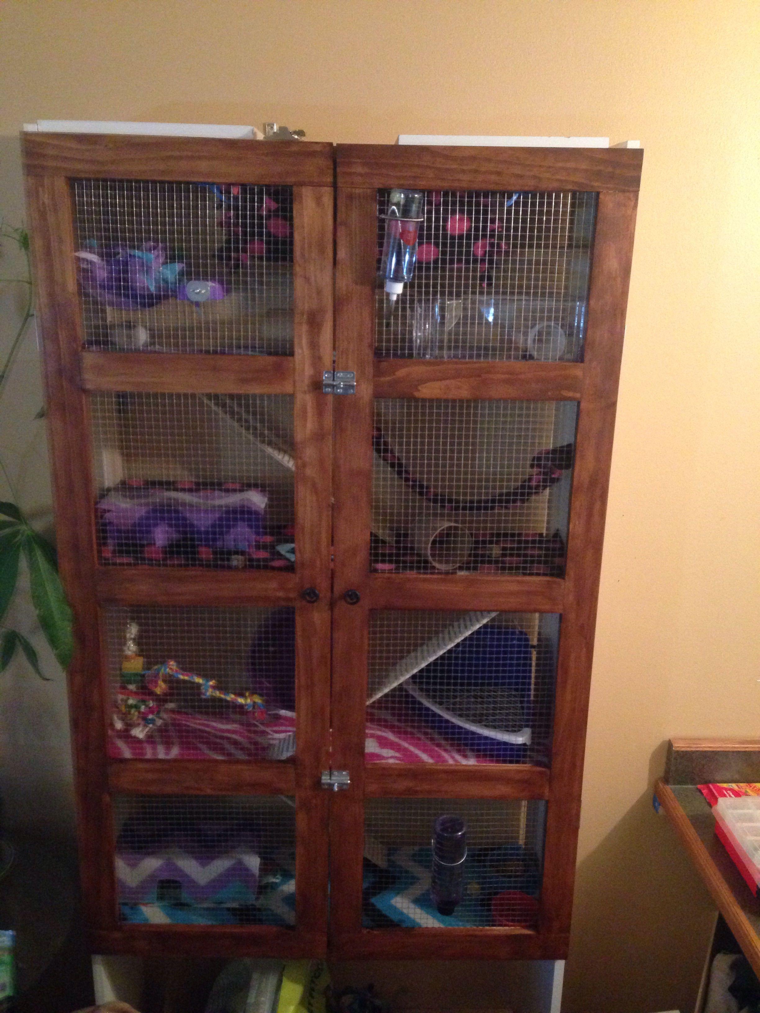 4 Story Bookshelf Rat Cage Bookcase Bookshelves Furnitures