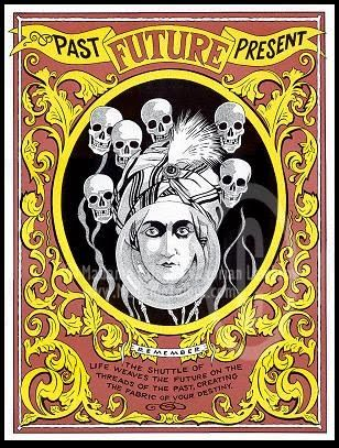 Vintage Circus Posters. Not Halloween, but still spooky vintage