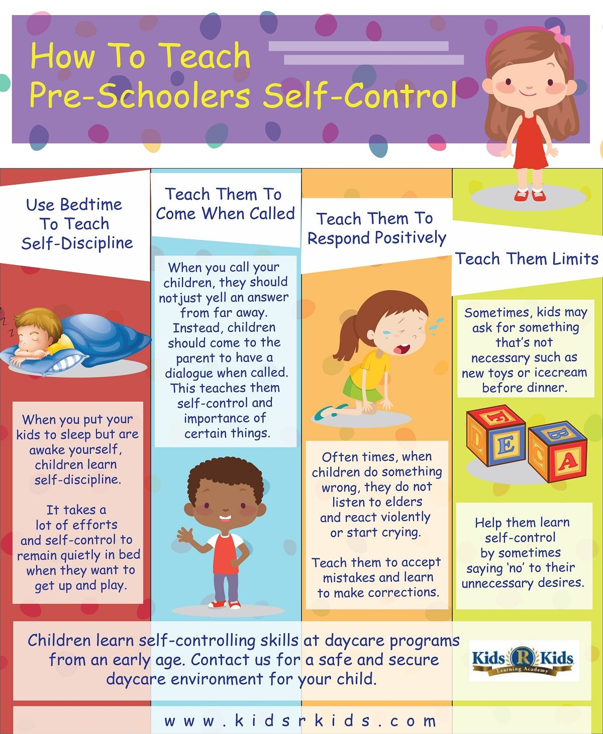 How To Teach Pre Schoolers Self Control