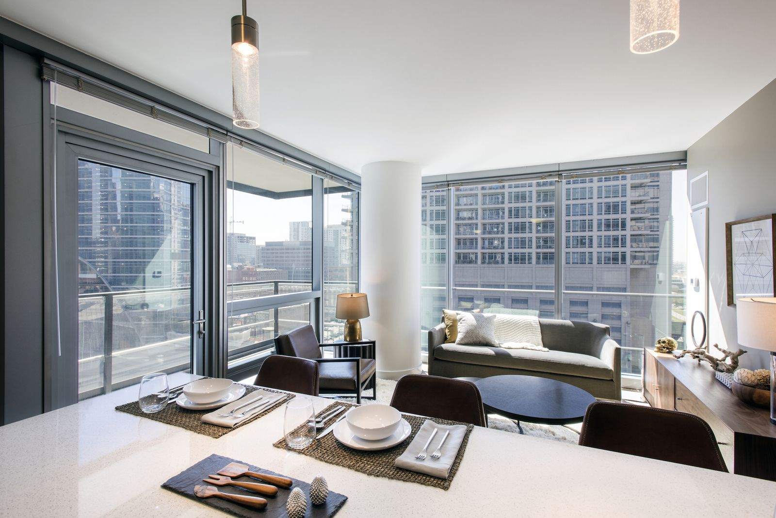 A First Look Inside Chicago S New Wolf Point West Tower Chicago