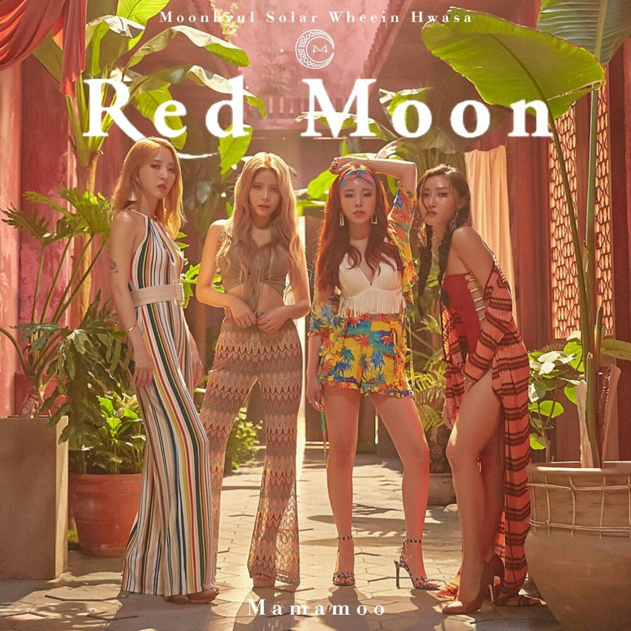 Pin by Maeve Kinsella on Queens in 2019 | Mamamoo, Album covers