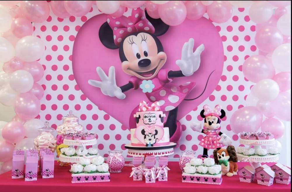 Minnie Mouse Birthday Party Ideas Minnie Mouse Birthday Minnie