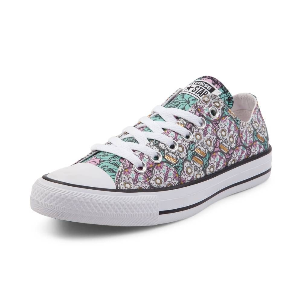 80629ddd18 Converse Chuck Taylor All Star Lo Sugar Skulls Sneaker - White Multi -  399484