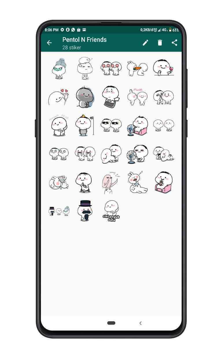 Download Stiker WA Pentol Full Lengkap untuk WhatsApp