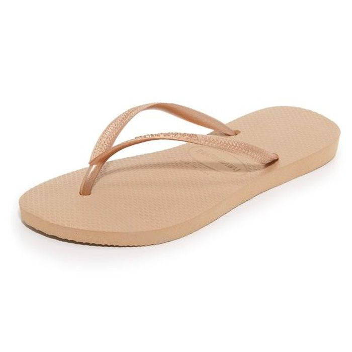 a82f3f6b206c Nude sandals - Rank   Style - Havaianas Slim Flip Flops  rankandstyle