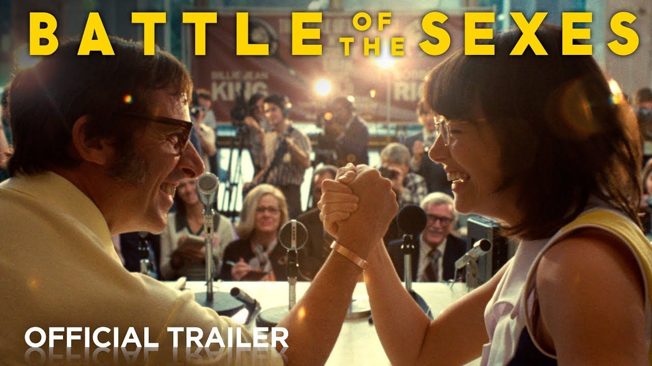 Battle Of The Sexes Official Hd Trailer 2017 New Movies Coming Soon Hd Trailers Movie Trailers