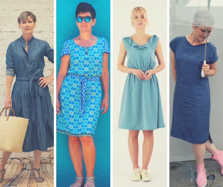 10 tolle Schnittmuster für ein Sommerkleid aus Webware ...