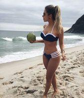 10 zomer bikinis-ideeën strandoutfits en badpakken voor dames - fitness ...  - special - #badpakken...