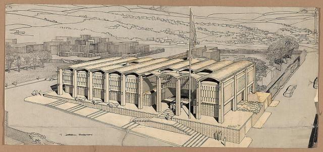design us embassy - new delhi | Modernism in Delhi | Paul rudolph