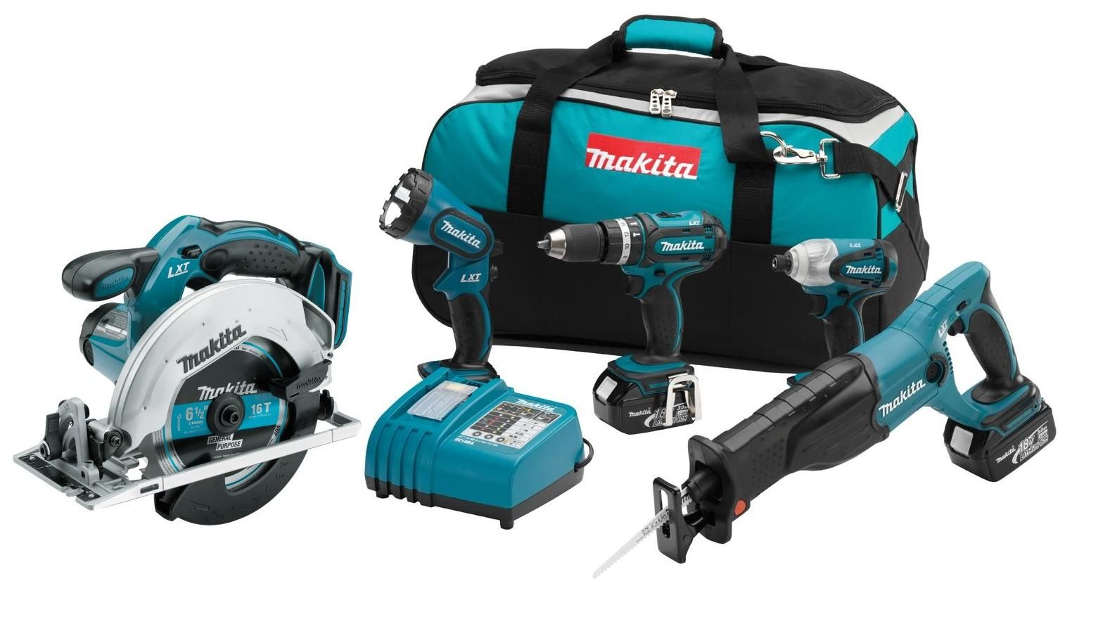 my Makita 18v tool set Combo kit, Makita, Cordless drill