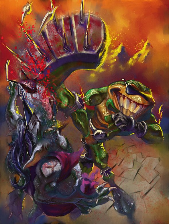Battletoads by Wilustra.deviantart.com on @deviantART