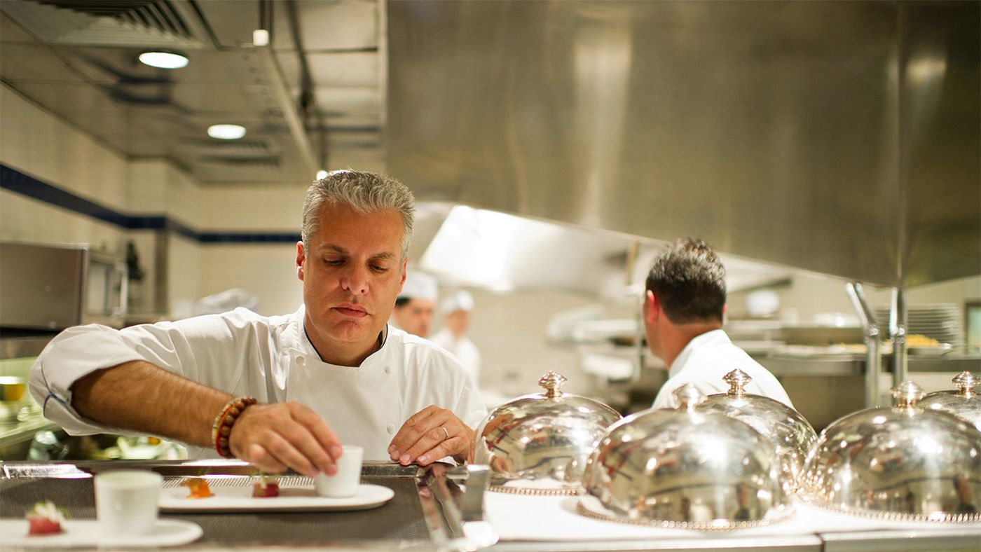 Eric ripert gives his best advice for new chefs