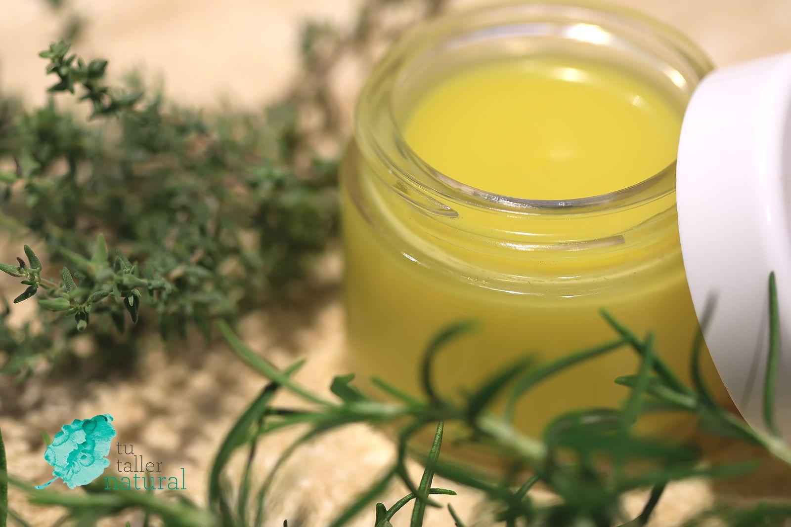 Ungüento Vegano De Tomillo Y Romero Unguentos Aceite Esencial De Tomillo Como Hacer Perfumes Caseros